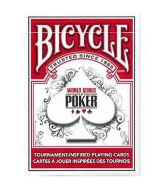 United States Playing Card Compnay Bicycle Cards World Series Of Poker RED