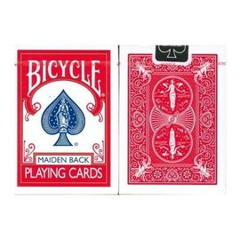 United States Playing Card Compnay Bicycle Cards Maiden Backs by USPC RED