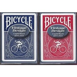 United States Playing Card Compnay Bicycle Cupid Back #5 Red