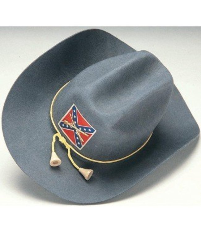 Rubies Costume Company Confederate Civil War Officer Hat - Adult Large