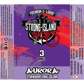 Vapor Liq Aurora 60ml 3mg by Strong Island Vapes