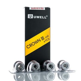 UWell Crown 3 Coil .5ohm 4 per pack