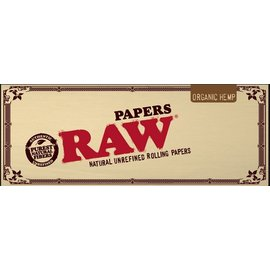 Raw Rolling Organic Hemp King Size