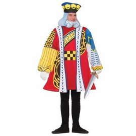 """Forum Novelties King of Cards - Adult One Size up to 42"""""""
