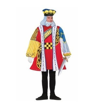 Forum Novelties King of Cards - Adult One Size up to 42""