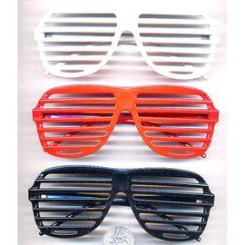 Aviator Blinds Sunglasses Black