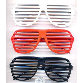 Aviator Blinds Sunglasses White