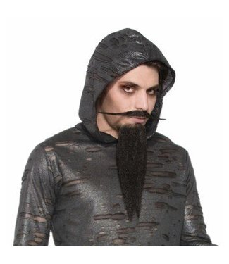 Forum Novelties Wizard Beard and Moustache - Black