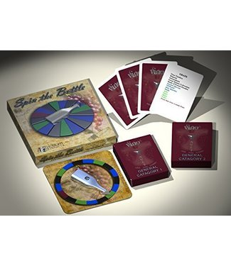 Spin The Bottle - Vino Vault Companion Game