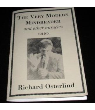 Book - The Very Modern Mindreader and Other Miracles by Richard Osterlind (M7)