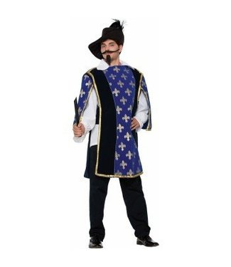 Forum Novelties Musketeer Beard and Moustache - Black