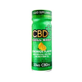 CBD Chill Shot – Lemonade Flavor 20mg 2oz 60ml by CBDfx