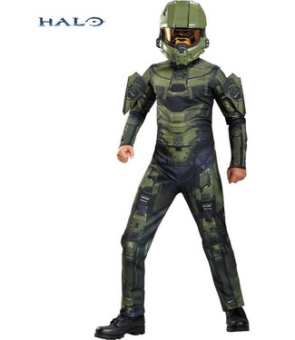 Disguise Master Chief Classic, Halo - Child Lg 10-12