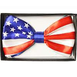 Bow Tie, American Flag - Boxed