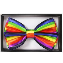 Bow Tie, Rainbow Colors - Boxed