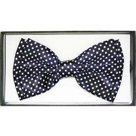 Bow Tie, Black w/White Dots - Boxed