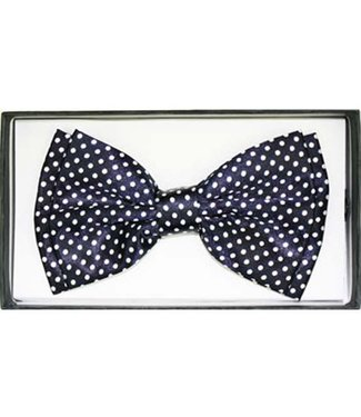 Bow Tie, Black w/White Dots - Boxed