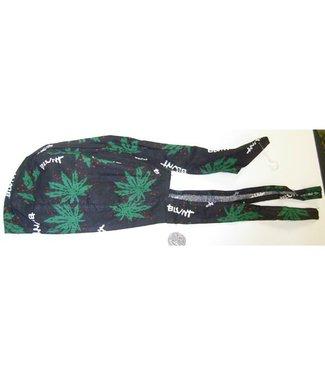 Headwrap, Green Leaf and Blunt by Amazing Danna