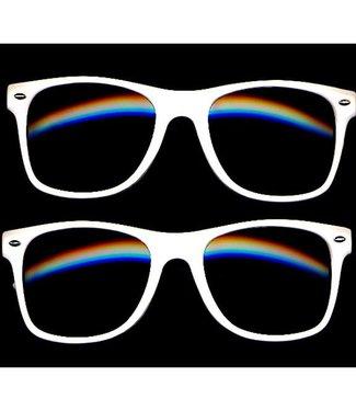Wayfarer Eyeglasses White Frame - Soft Touch Coating