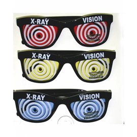 Sunglasses X-Ray Vision - Assorted Color Lenses
