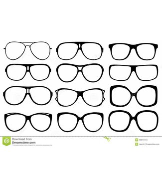 Sunglasses - Assorted Style Clear Lenses, Quality Each Pair