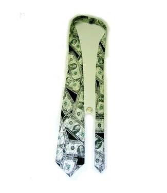 Necktie Money U.S. Bills By J-Land