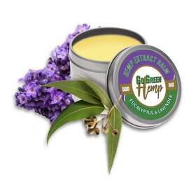 Go Green Hemp CBD Salve Eucalyptus And Lavender 500mg by Go Green Hemp