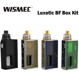 Luxotic BF Box Kit, Black Honeycomb by Wismec