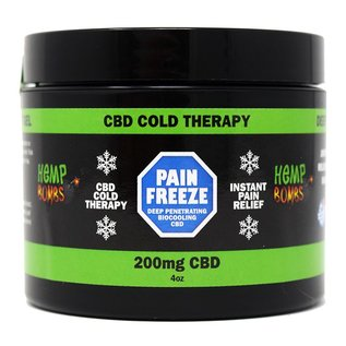 Hemp Bombs CBD Pain Freeze 4 oz by Hemp Bombs