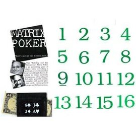 Matrix Poker By  Jim Steinmeyer and Alan Wakeling from Royal Magic