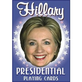 Hillary Presidential Playing Cards by Parody Productions LLC