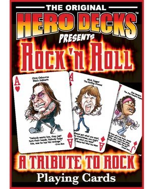 Hero Decks: Rock 'n Roll Playing Cards by Parody Productions LLC