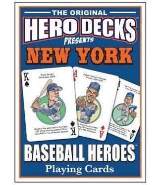 Hero Decks: New York Mets Baseball Playing Cards by Parody Productions LLC