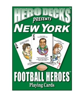 Hero Decks: New York Jets Football Playing Cards by Parody Productions LLC