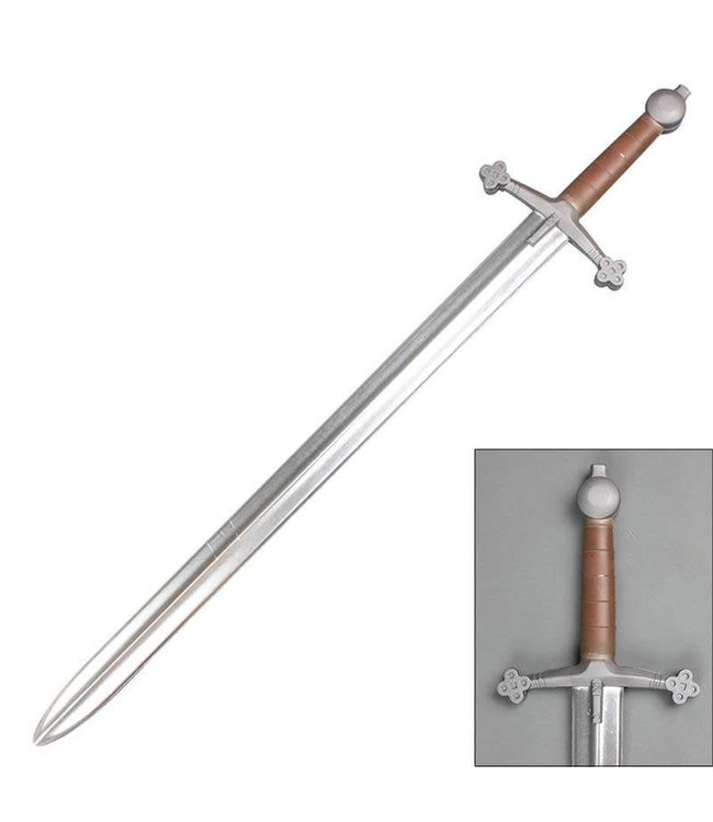 Sword Foam - Medieval Scottish Claymore Cosplay Chrome Blade