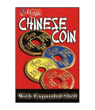 Expanded Chinese Shell w/Coin (BLUE) by Royal Magic