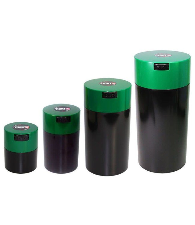 Tightpac-Tightvac Tightvac 4 Set, SET4-SDG - Dark Green and Black