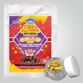 CBD Dab Crumble Amnesia Haze w/Terpenes 450mg 1G by Experience CBD