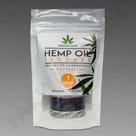 CBD Isolate Crystals 1000mg 1gm by Green Leaf