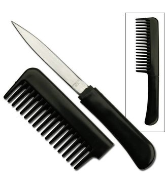 Comb With Hidden Knife, Black