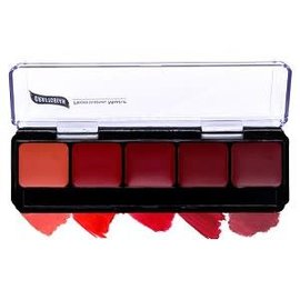 Graftobian Make-Up Company Lip Color Pallete, Red