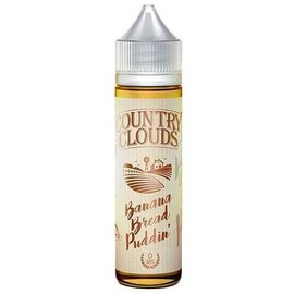 Banana Bread Puddin' 0mg 60ml eLiquid by Country Clouds