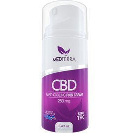 Medterra CBD CBD Rapid Cooling Pain Cream 250mg by Medterra CBD