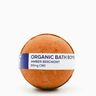Water For Living CBD Amber Bergamot Bath Bomb 60mg by Water for Living