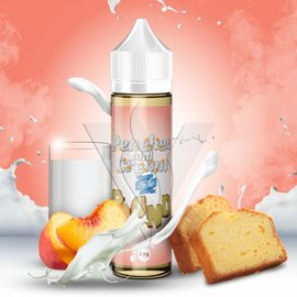Peaches And Cream 3mg 60ml eLiquid by By The Pound