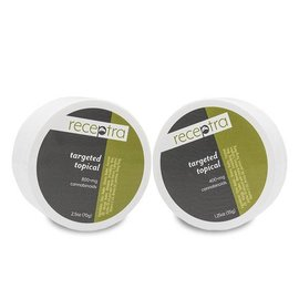 Receptra Naturals CBD Targeted Topical Cream 800mg 2.50 oz by Receptra Naturals