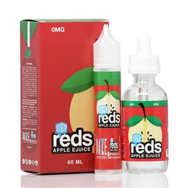 Iced Reds Apple 0mg 60ml eLiquid by 7 Daze