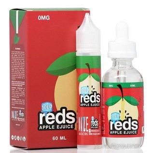 Iced Reds Apple 0mg 60ml eLiquid by 7 Daze