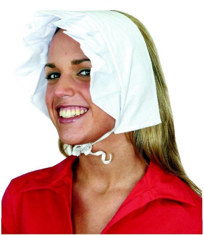 Bonnet Puritan, White by Jacobson Hats