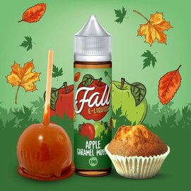 Apple Caramel Muffin 0mg 60ml by Fall E-Liquids